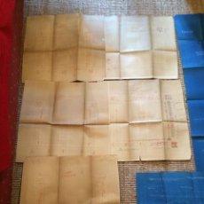 Libros antiguos: PLANOS ASILO SANTAMARCA (ORIGINALES). Lote 198878123