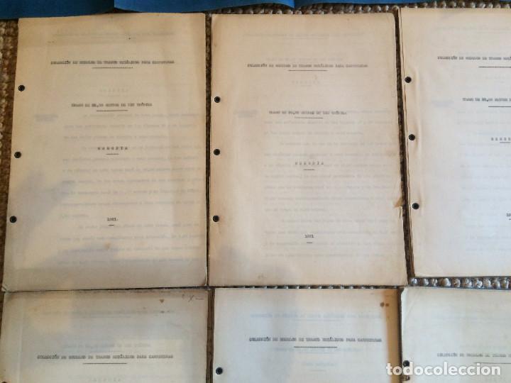 Libros antiguos: COLECCION DE MODELOS DE TRAMOS METALICOS PARA CARRETERAS 1921 (ORIGINALES) - Foto 6 - 198884572