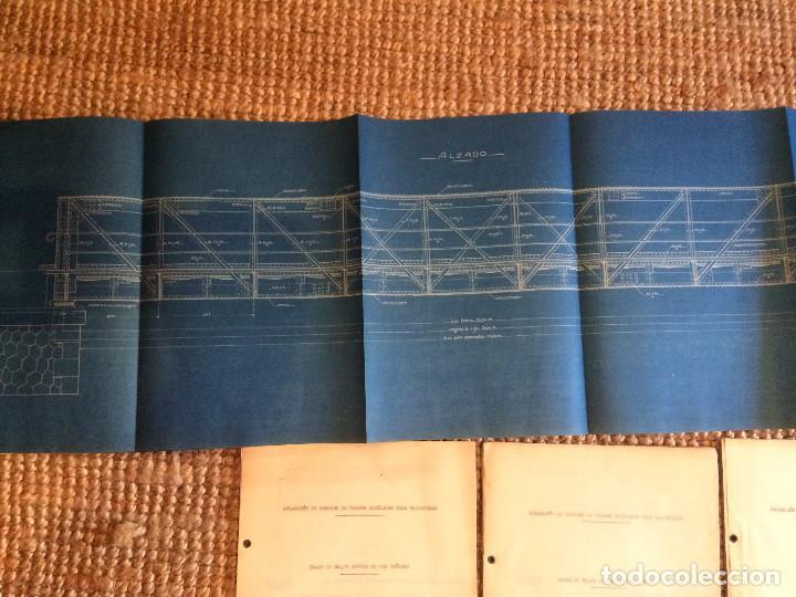 Libros antiguos: COLECCION DE MODELOS DE TRAMOS METALICOS PARA CARRETERAS 1921 (ORIGINALES) - Foto 7 - 198884572