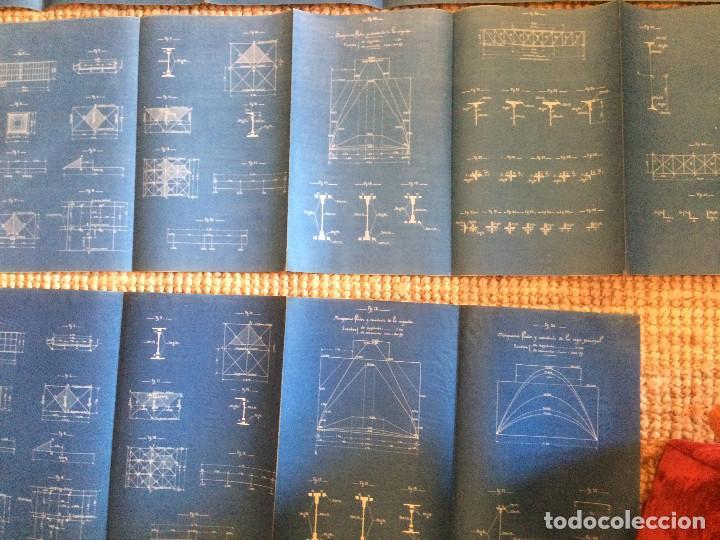 Libros antiguos: COLECCION DE MODELOS DE TRAMOS METALICOS PARA CARRETERAS 1921 (ORIGINALES) - Foto 11 - 198884572