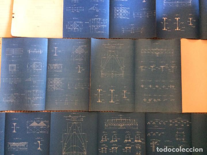 Libros antiguos: COLECCION DE MODELOS DE TRAMOS METALICOS PARA CARRETERAS 1921 (ORIGINALES) - Foto 12 - 198884572