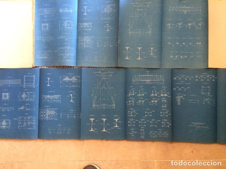 Libros antiguos: COLECCION DE MODELOS DE TRAMOS METALICOS PARA CARRETERAS 1921 (ORIGINALES) - Foto 13 - 198884572