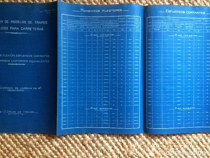 Libros antiguos: PROYECTO COMPLETO MINISTERIO FOMENTO 1922 (UNICO) - Foto 6 - 199089905