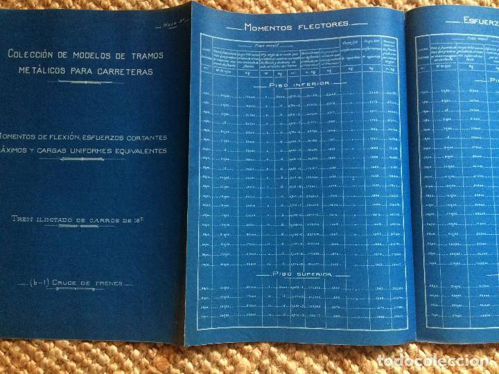 Libros antiguos: PROYECTO COMPLETO MINISTERIO FOMENTO 1922 (UNICO) - Foto 8 - 199089905
