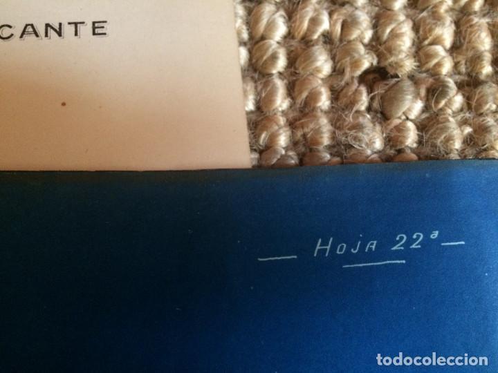 Libros antiguos: PROYECTO COMPLETO MINISTERIO FOMENTO 1922 (UNICO) - Foto 12 - 199089905