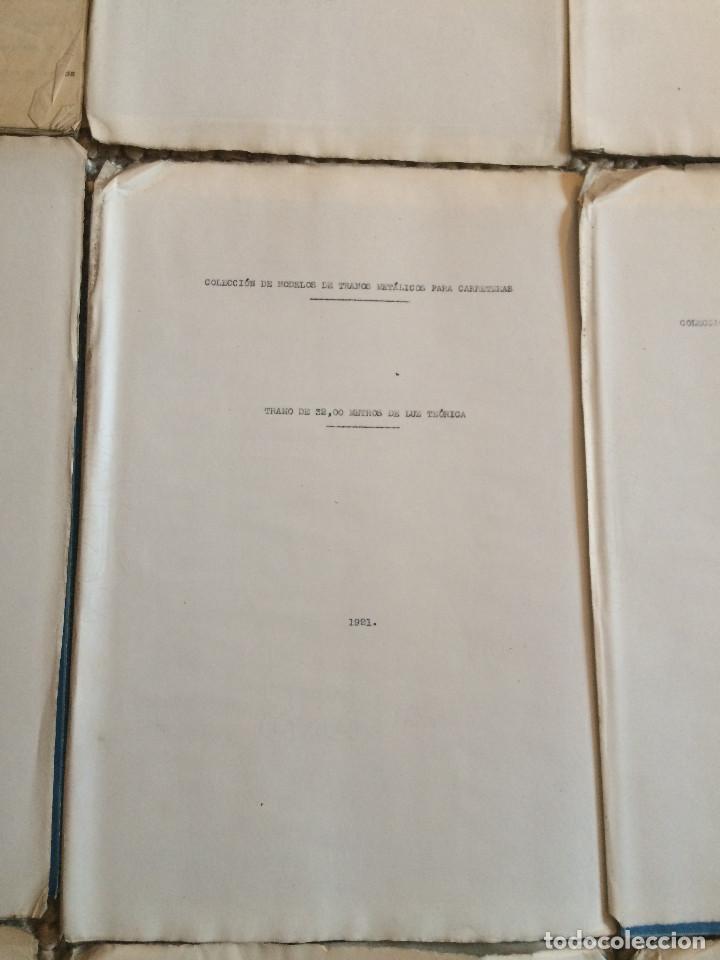 Libros antiguos: PROYECTO COMPLETO MINISTERIO FOMENTO 1922 (UNICO) - Foto 20 - 199089905