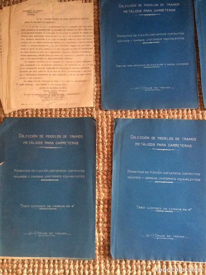 Libros antiguos: PROYECTO COMPLETO MINISTERIO FOMENTO 1922 (UNICO) - Foto 26 - 199089905