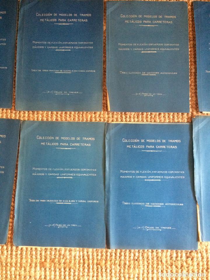 Libros antiguos: PROYECTO COMPLETO MINISTERIO FOMENTO 1922 (UNICO) - Foto 27 - 199089905