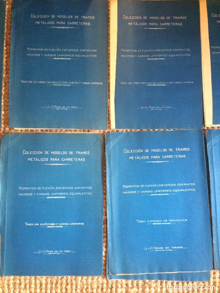 Libros antiguos: PROYECTO COMPLETO MINISTERIO FOMENTO 1922 (UNICO) - Foto 28 - 199089905