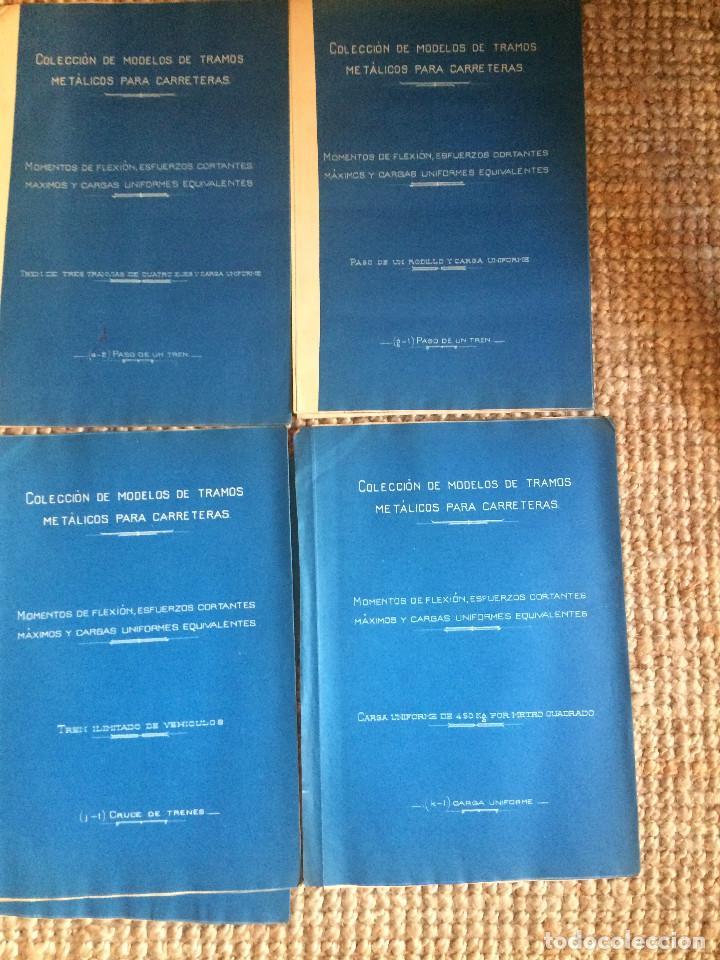 Libros antiguos: PROYECTO COMPLETO MINISTERIO FOMENTO 1922 (UNICO) - Foto 29 - 199089905