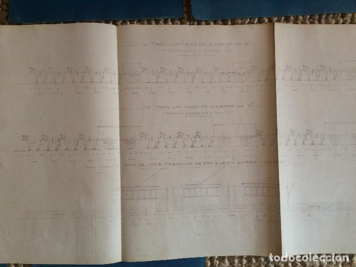 Libros antiguos: PROYECTO COMPLETO MINISTERIO FOMENTO 1922 (UNICO) - Foto 33 - 199089905