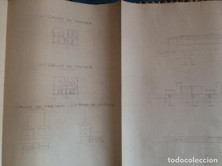 Libros antiguos: PROYECTO COMPLETO MINISTERIO FOMENTO 1922 (UNICO) - Foto 34 - 199089905