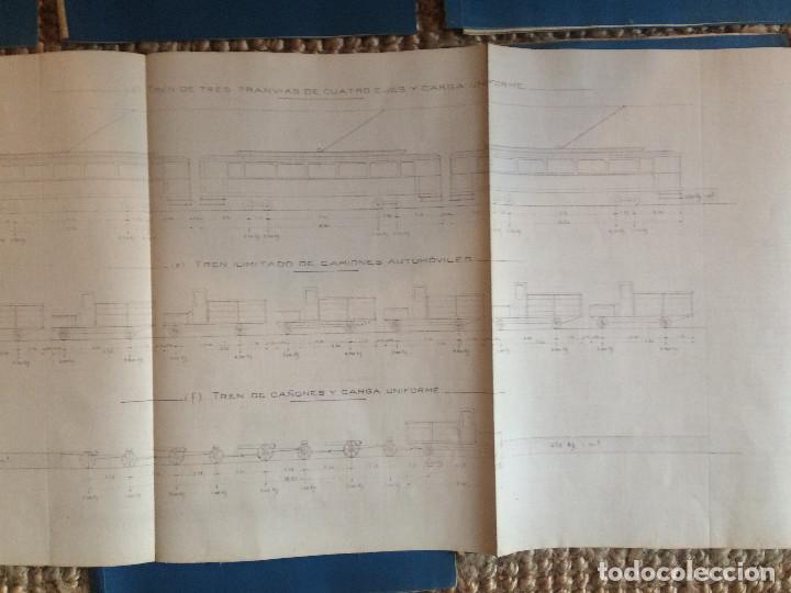 Libros antiguos: PROYECTO COMPLETO MINISTERIO FOMENTO 1922 (UNICO) - Foto 35 - 199089905