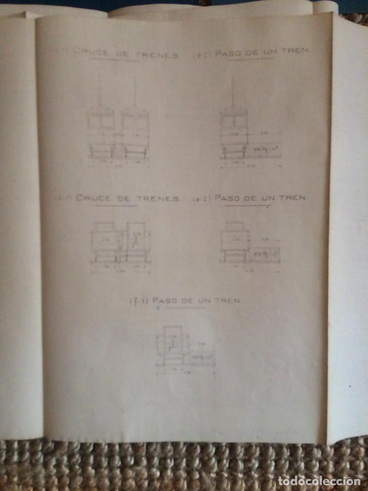Libros antiguos: PROYECTO COMPLETO MINISTERIO FOMENTO 1922 (UNICO) - Foto 36 - 199089905