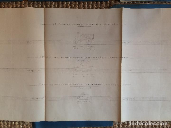 Libros antiguos: PROYECTO COMPLETO MINISTERIO FOMENTO 1922 (UNICO) - Foto 37 - 199089905