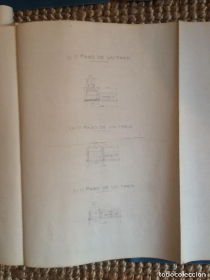 Libros antiguos: PROYECTO COMPLETO MINISTERIO FOMENTO 1922 (UNICO) - Foto 38 - 199089905
