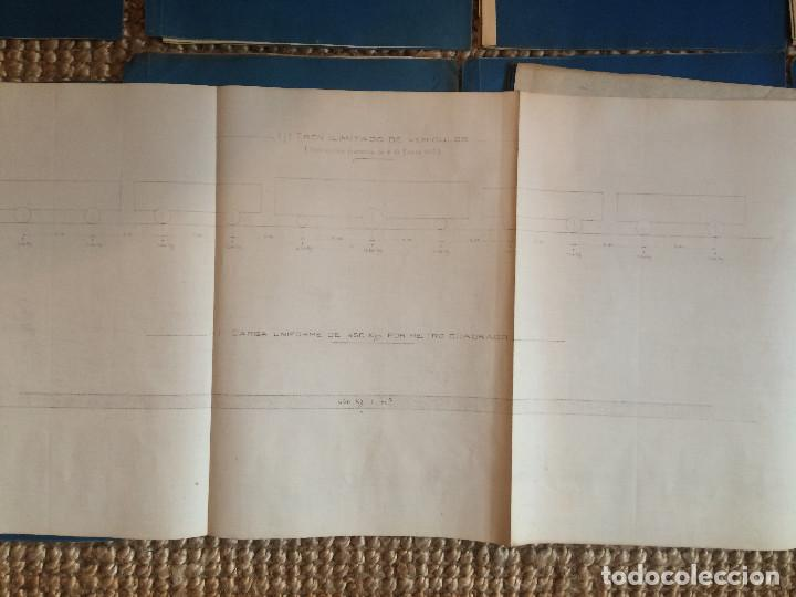 Libros antiguos: PROYECTO COMPLETO MINISTERIO FOMENTO 1922 (UNICO) - Foto 39 - 199089905