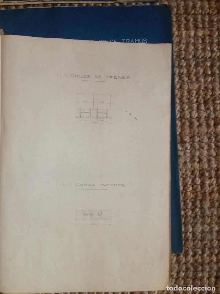 Libros antiguos: PROYECTO COMPLETO MINISTERIO FOMENTO 1922 (UNICO) - Foto 40 - 199089905