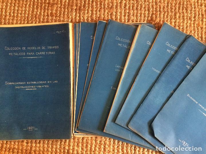 Libros antiguos: PROYECTO COMPLETO MINISTERIO FOMENTO 1922 (UNICO) - Foto 42 - 199089905