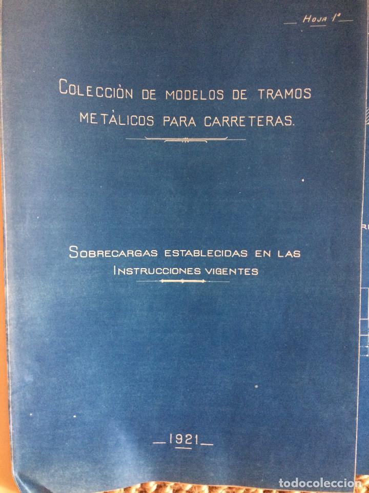 Libros antiguos: PROYECTO COMPLETO MINISTERIO FOMENTO 1922 (UNICO) - Foto 43 - 199089905