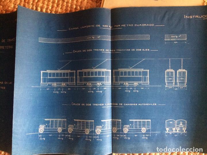 Libros antiguos: PROYECTO COMPLETO MINISTERIO FOMENTO 1922 (UNICO) - Foto 44 - 199089905