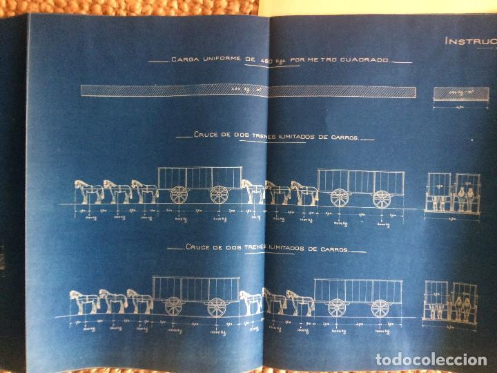 Libros antiguos: PROYECTO COMPLETO MINISTERIO FOMENTO 1922 (UNICO) - Foto 46 - 199089905