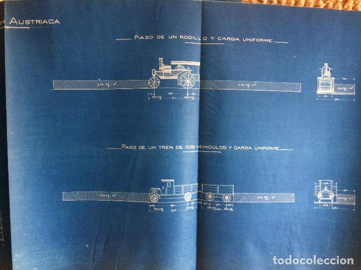 Libros antiguos: PROYECTO COMPLETO MINISTERIO FOMENTO 1922 (UNICO) - Foto 47 - 199089905