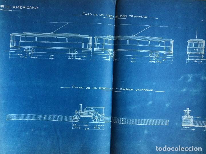 Libros antiguos: PROYECTO COMPLETO MINISTERIO FOMENTO 1922 (UNICO) - Foto 49 - 199089905