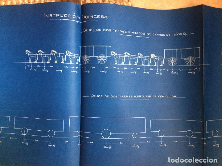 Libros antiguos: PROYECTO COMPLETO MINISTERIO FOMENTO 1922 (UNICO) - Foto 51 - 199089905