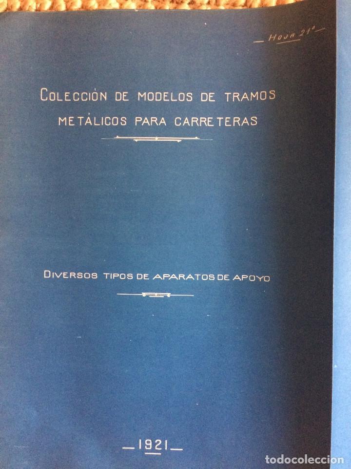 Libros antiguos: PROYECTO COMPLETO MINISTERIO FOMENTO 1922 (UNICO) - Foto 53 - 199089905