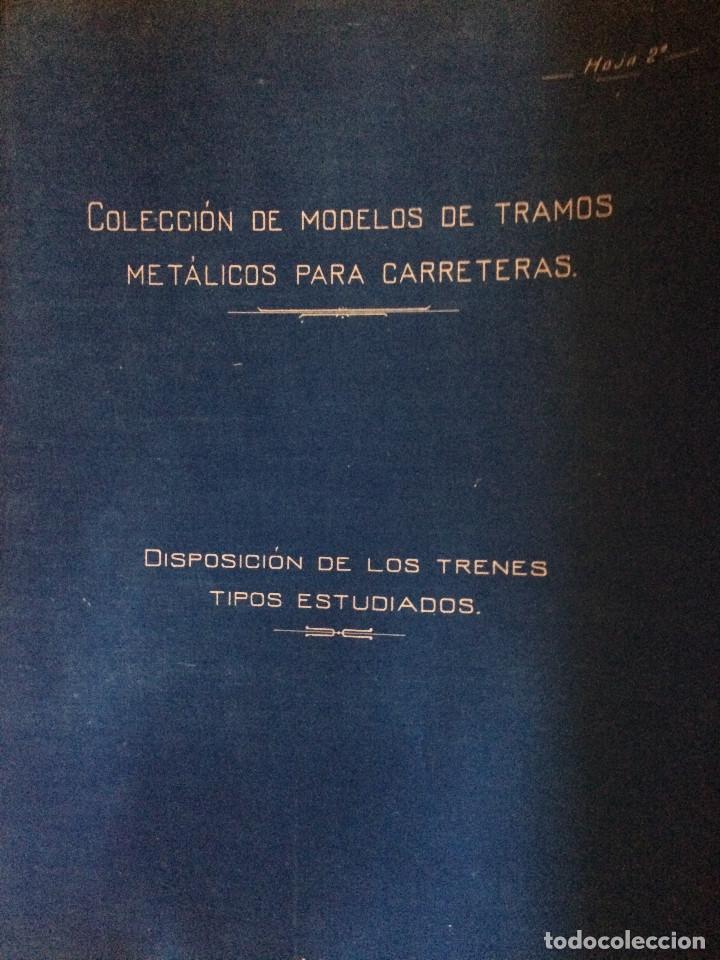 Libros antiguos: PROYECTO COMPLETO MINISTERIO FOMENTO 1922 (UNICO) - Foto 56 - 199089905