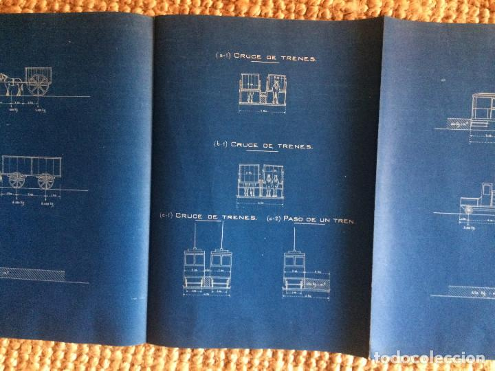 Libros antiguos: PROYECTO COMPLETO MINISTERIO FOMENTO 1922 (UNICO) - Foto 58 - 199089905