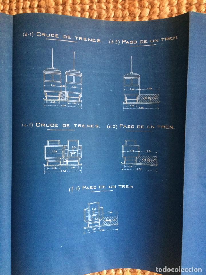 Libros antiguos: PROYECTO COMPLETO MINISTERIO FOMENTO 1922 (UNICO) - Foto 60 - 199089905