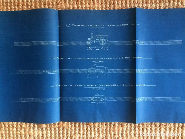 Libros antiguos: PROYECTO COMPLETO MINISTERIO FOMENTO 1922 (UNICO) - Foto 61 - 199089905
