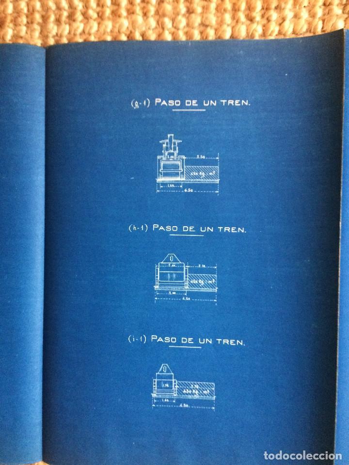 Libros antiguos: PROYECTO COMPLETO MINISTERIO FOMENTO 1922 (UNICO) - Foto 62 - 199089905