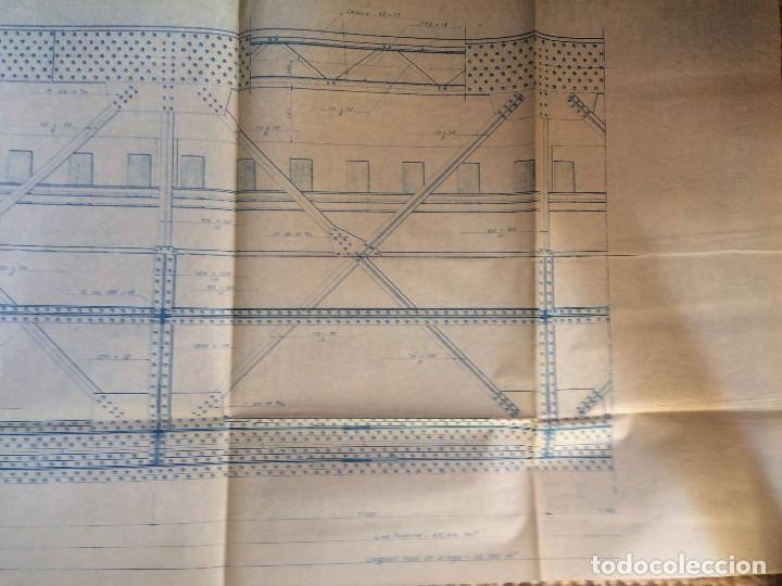 Libros antiguos: LINEA CORDOBA SEVILLA (PUENTE SOBRE RIO GUADIATO 1917) PROYECTO ORIGINAL COMPLETO - Foto 2 - 199102475