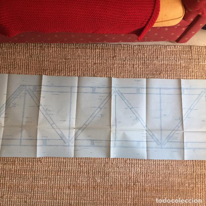 Libros antiguos: LINEA CORDOBA SEVILLA (PUENTE SOBRE RIO GUADIATO 1917) PROYECTO ORIGINAL COMPLETO - Foto 7 - 199102475
