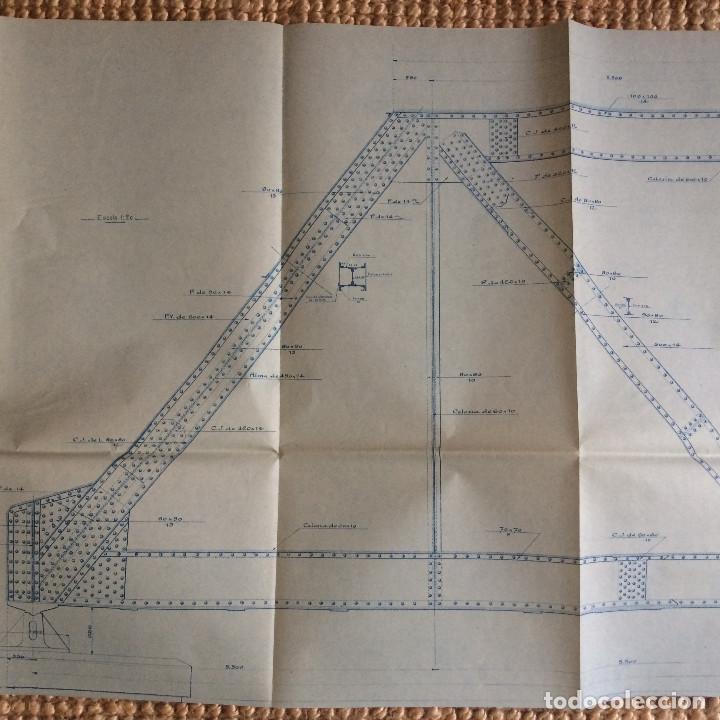 Libros antiguos: LINEA CORDOBA SEVILLA (PUENTE SOBRE RIO GUADIATO 1917) PROYECTO ORIGINAL COMPLETO - Foto 8 - 199102475