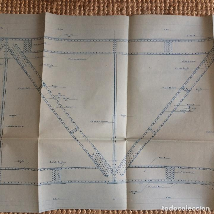 Libros antiguos: LINEA CORDOBA SEVILLA (PUENTE SOBRE RIO GUADIATO 1917) PROYECTO ORIGINAL COMPLETO - Foto 9 - 199102475