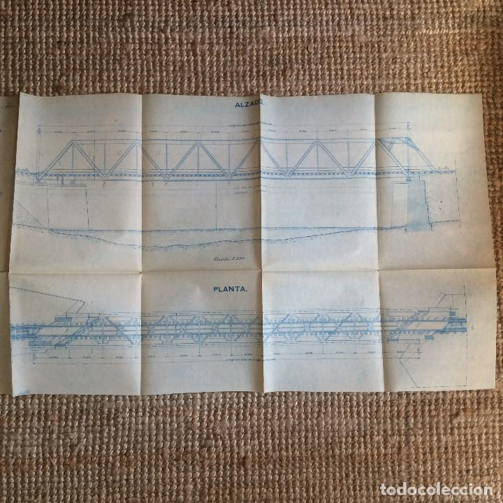 Libros antiguos: LINEA CORDOBA SEVILLA (PUENTE SOBRE RIO GUADIATO 1917) PROYECTO ORIGINAL COMPLETO - Foto 14 - 199102475