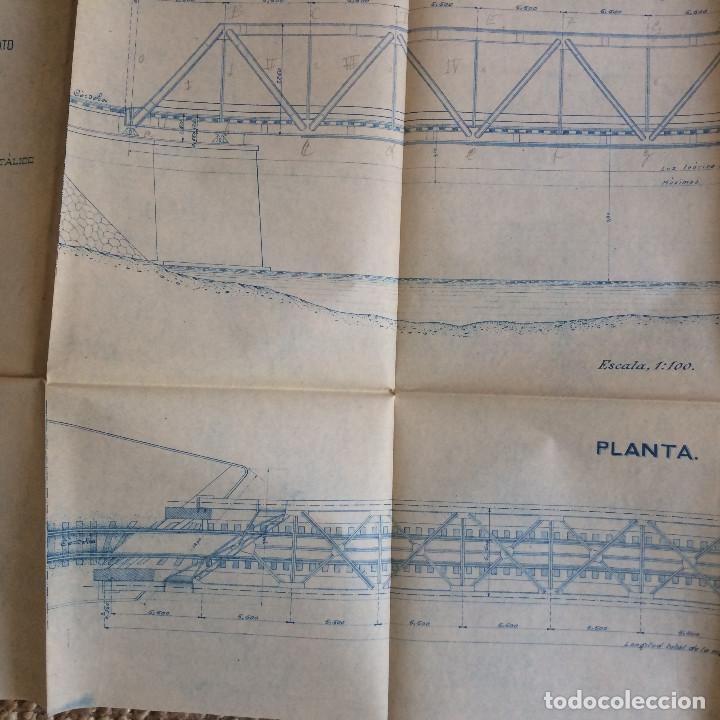 Libros antiguos: LINEA CORDOBA SEVILLA (PUENTE SOBRE RIO GUADIATO 1917) PROYECTO ORIGINAL COMPLETO - Foto 15 - 199102475