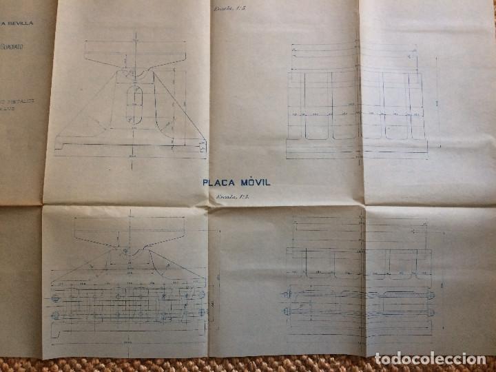 Libros antiguos: LINEA CORDOBA SEVILLA (PUENTE SOBRE RIO GUADIATO 1917) PROYECTO ORIGINAL COMPLETO - Foto 20 - 199102475