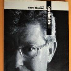 Libros antiguos: EL CROQUIS Nº 80 - DANIEL LIBESKIND (ARQUITECTURA Y DISEÑO). Lote 199248660