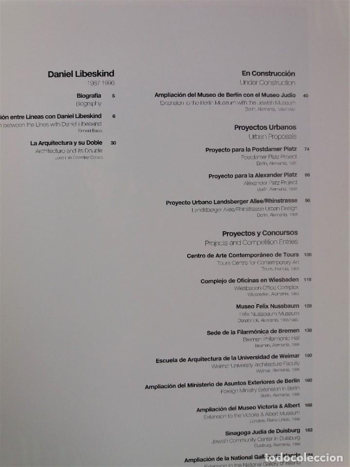 Libros antiguos: EL CROQUIS nº 80 - DANIEL LIBESKIND (arquitectura y diseño) - Foto 2 - 199248660