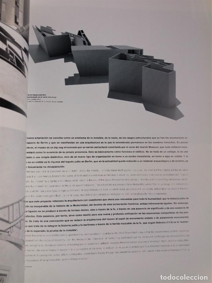 Libros antiguos: EL CROQUIS nº 80 - DANIEL LIBESKIND (arquitectura y diseño) - Foto 7 - 199248660