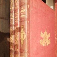 Libros antiguos: MARAVILLOSOS LIBROS PINTURAS VATICANAS,1862,1866, EXCEPCIONALES GRABADOS. Lote 199251395