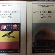 Livres anciens: LOTE 2 MANUALES ARTE CATEDRA. Lote 190760405