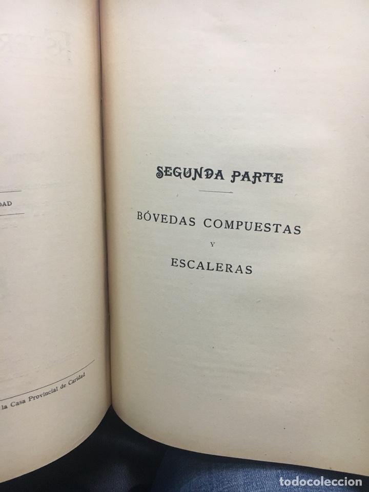 Libros antiguos: Estereotomia de la piedra - Foto 3 - 121969510