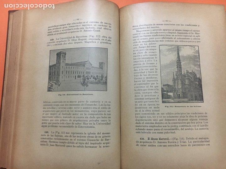 Libros antiguos: Estereotomia de la piedra - Foto 4 - 121969510