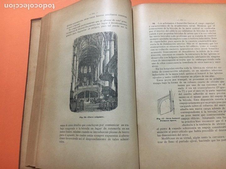 Libros antiguos: Estereotomia de la piedra - Foto 7 - 121969510
